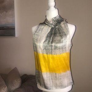 Silk Etcetera sleeveless blouse size 4